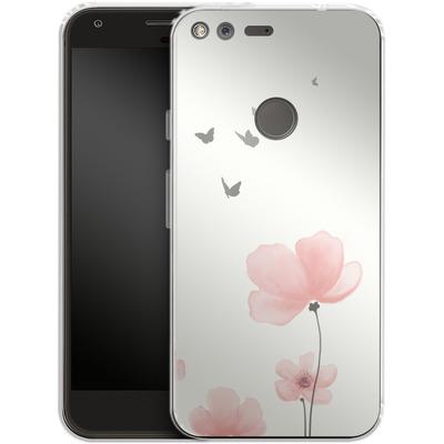 Google Pixel Silikon Handyhuelle - Blossom von SONY