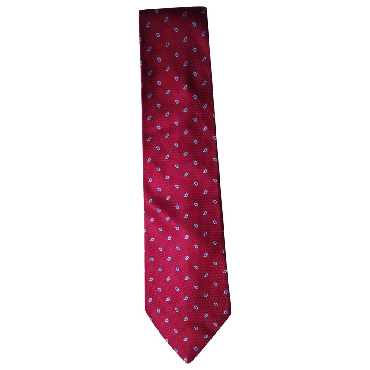 Givenchy - Cravates   pour homme en soie - rouge