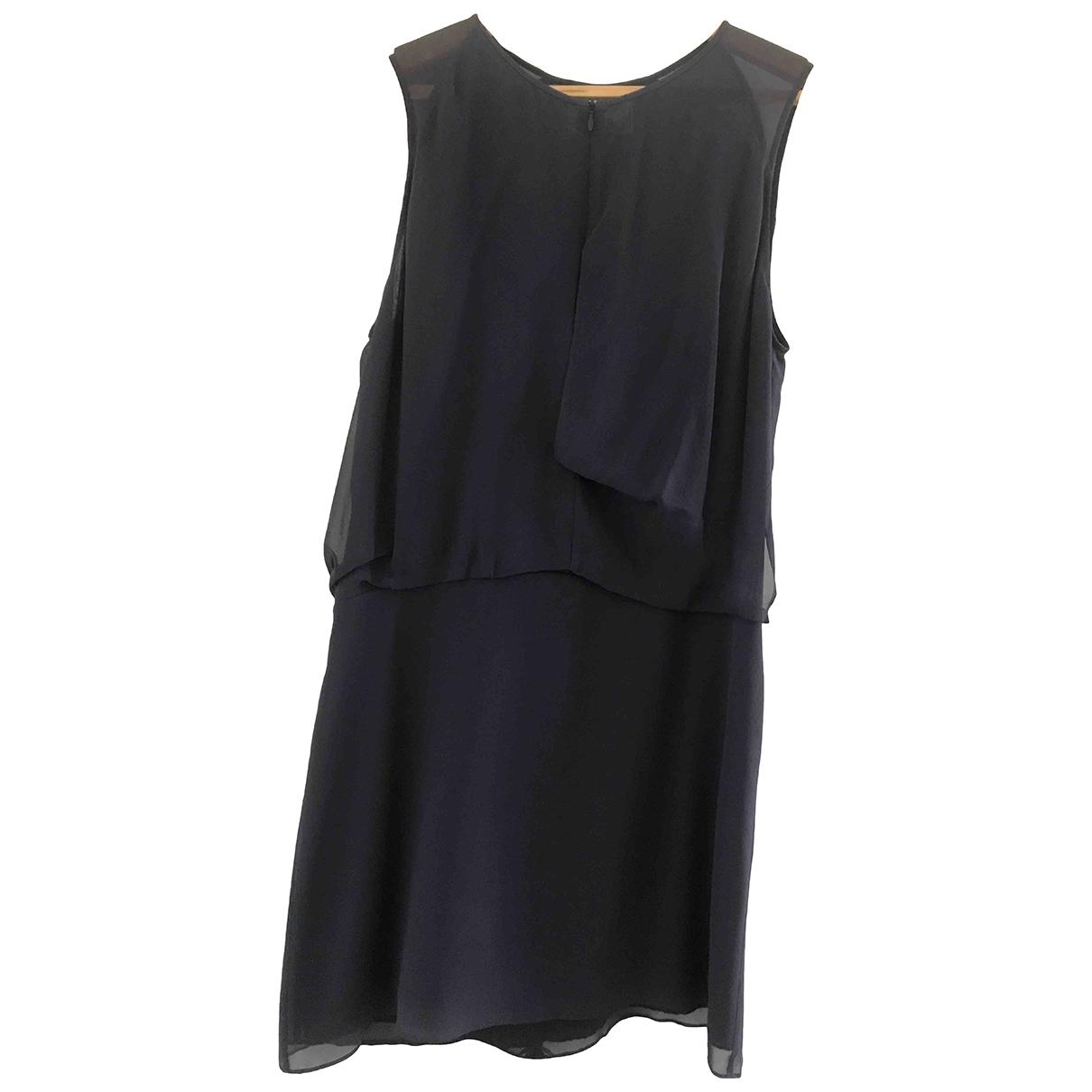 Acne Studios \N Grey Silk dress for Women 38 FR