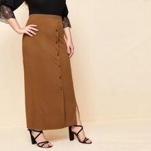 Faldas Extra Grande Particion Liso Elegante