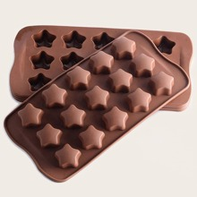 1pc 15 Grid Star Shaped Chocolate Mold