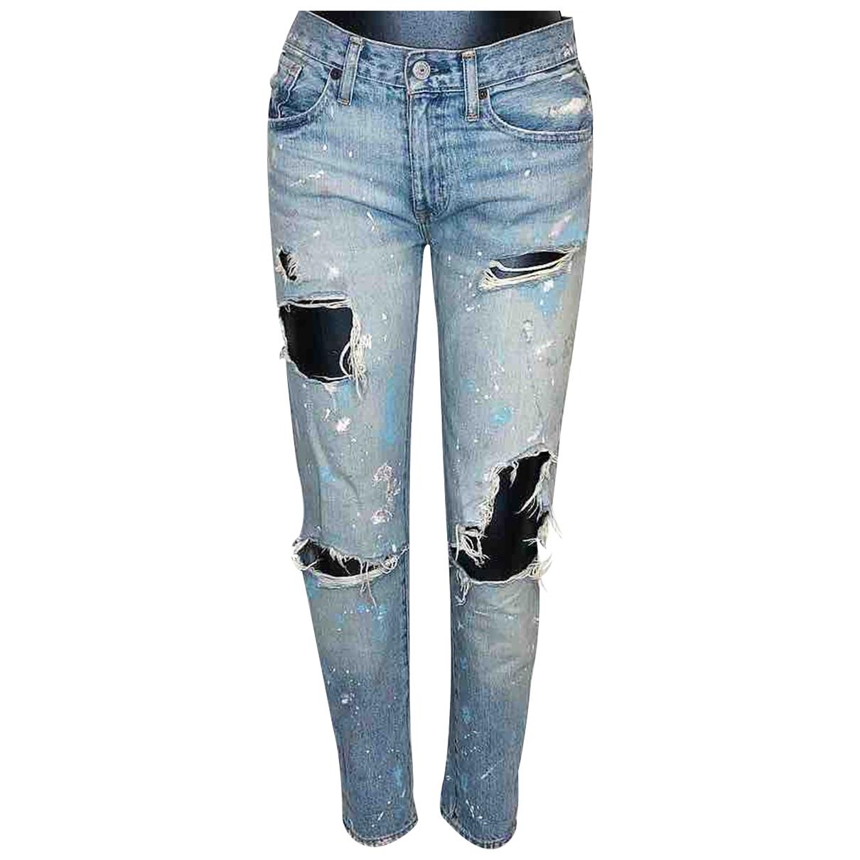 Ralph Lauren \N Blue Cotton Jeans for Women 24 US