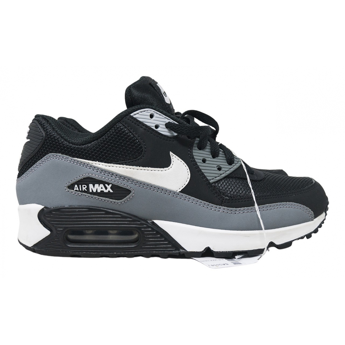 Nike Air Max 90 Grey Leather Trainers for Men 40 EU