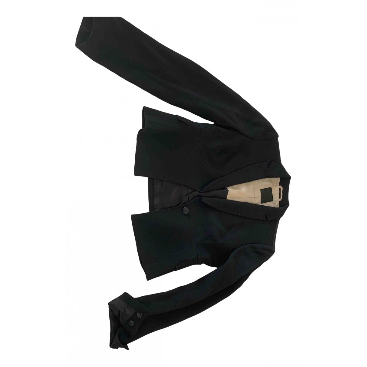 Costume National \N Black Wool jacket for Women 42 IT