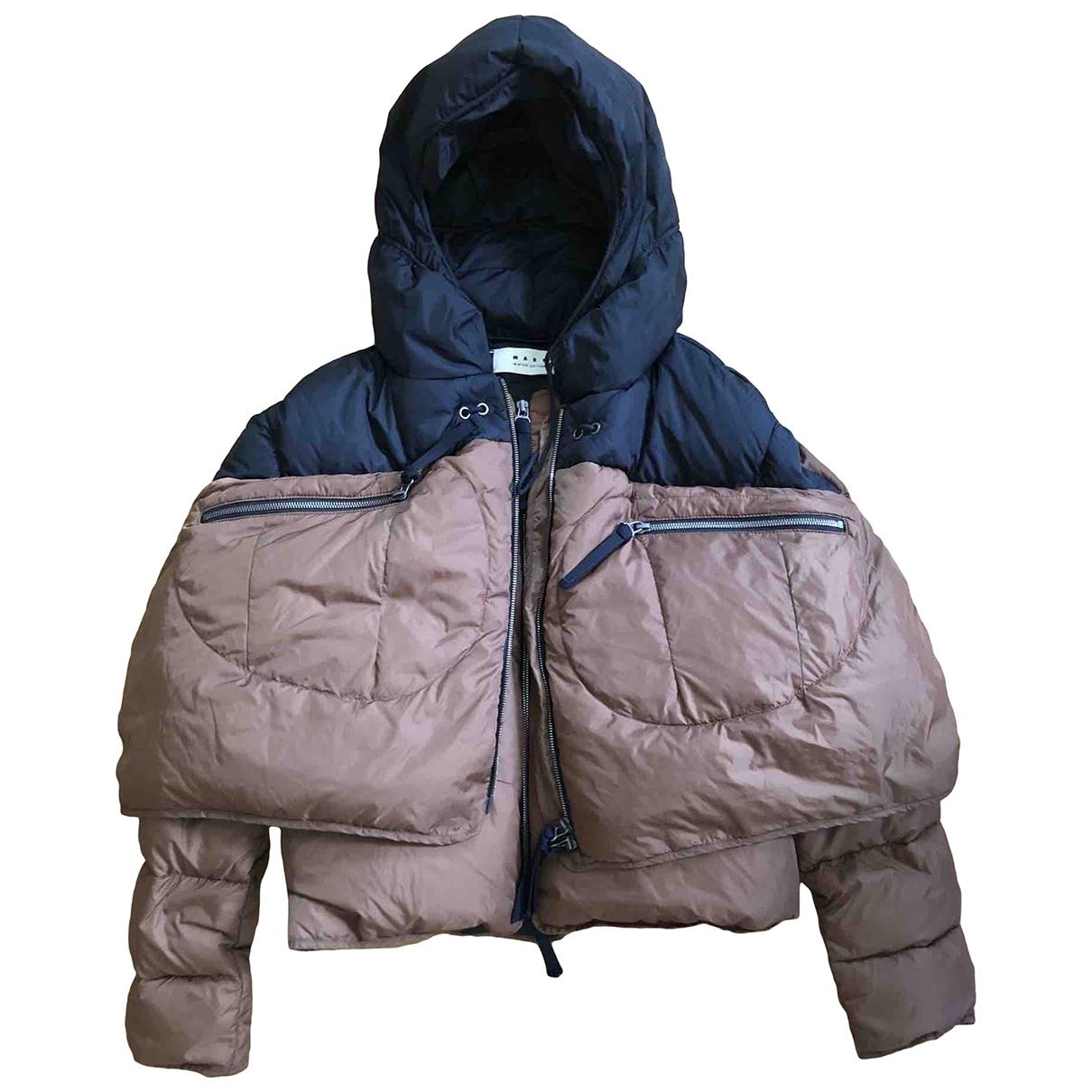 Marni \N Brown coat for Women 40 IT