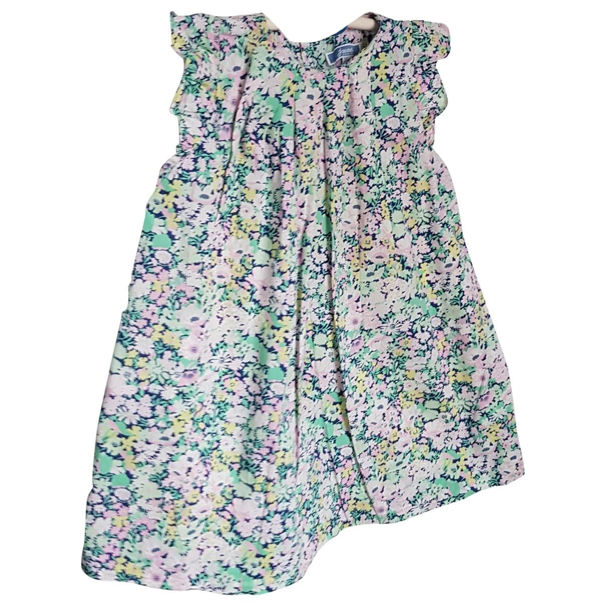 Jacadi - Robe    pour enfant en coton - vert