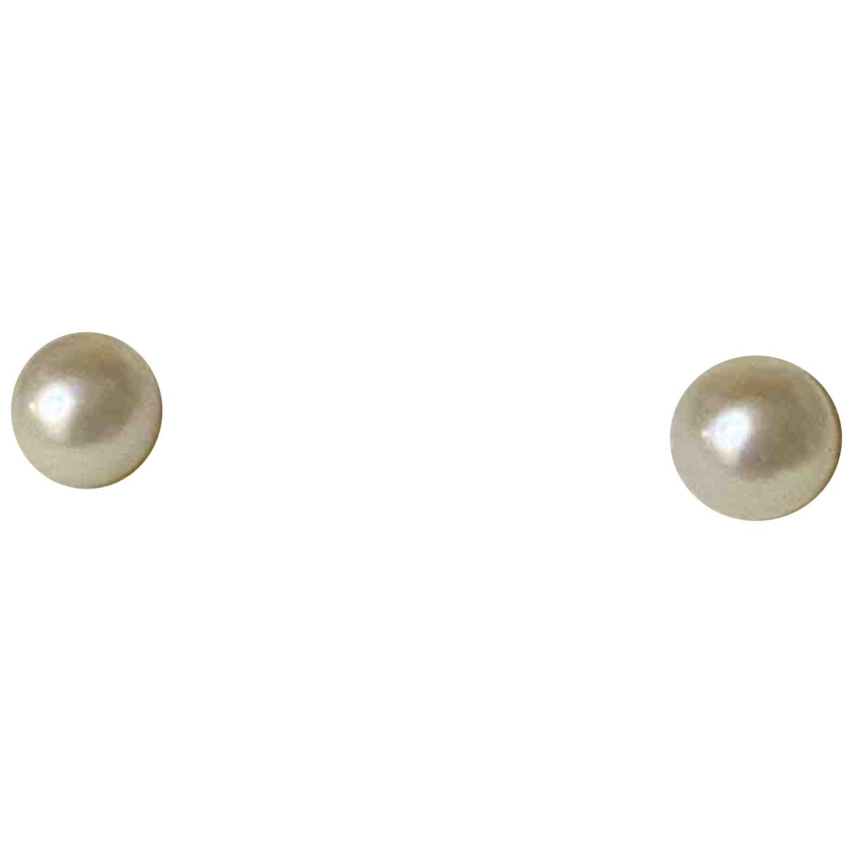 - Boucles doreilles   pour femme en or blanc
