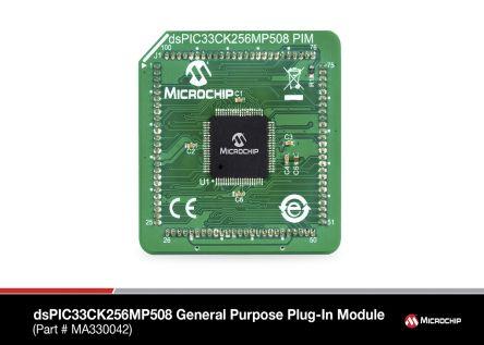 Microchip MA330042, Microprocessor dsPIC33 16bit 80-Pin TQFP