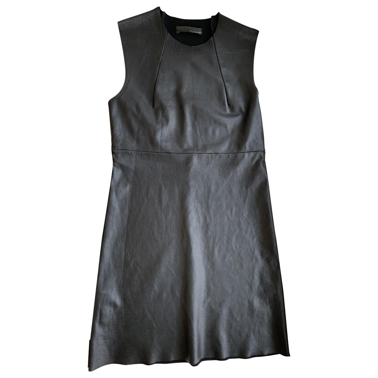 Prada \N Kleid in  Schwarz Synthetik