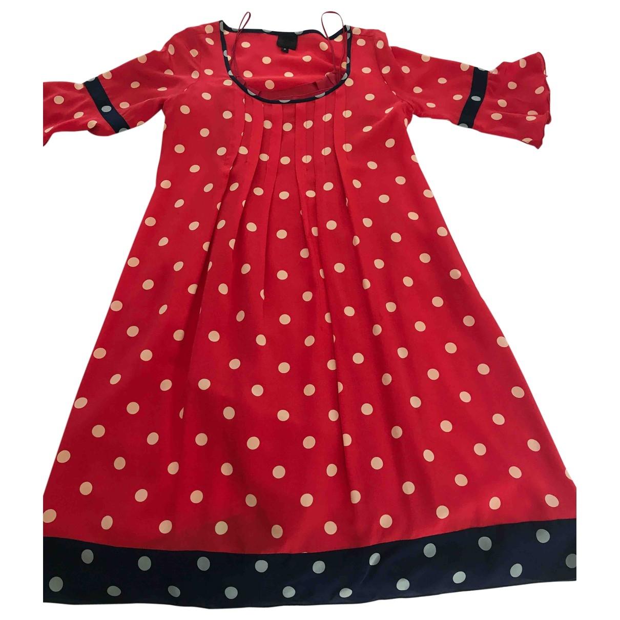 Anna Sui \N Kleid in  Bunt Seide