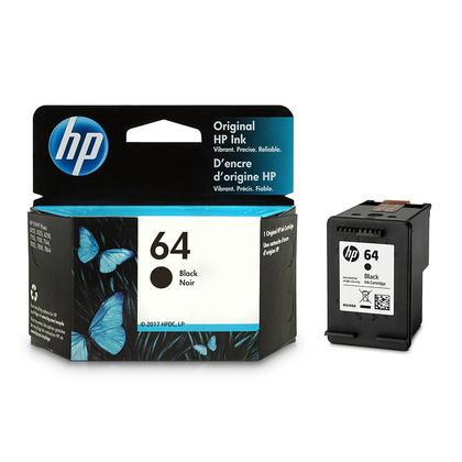 HP 64 N9J90AN cartouche d'encre originale noire