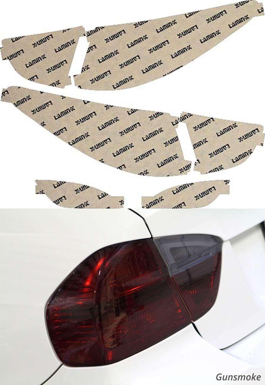Hyundai Tucson 10-15 Gunsmoke Tail Light Covers Lamin-X HY215G