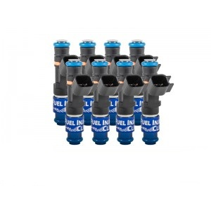 Fuel Injector Clinic IS407-0525H 525cc (50 lbs/hr at 43.5 PSI fuel pressure) Injector Set Ford F150 1999-2016