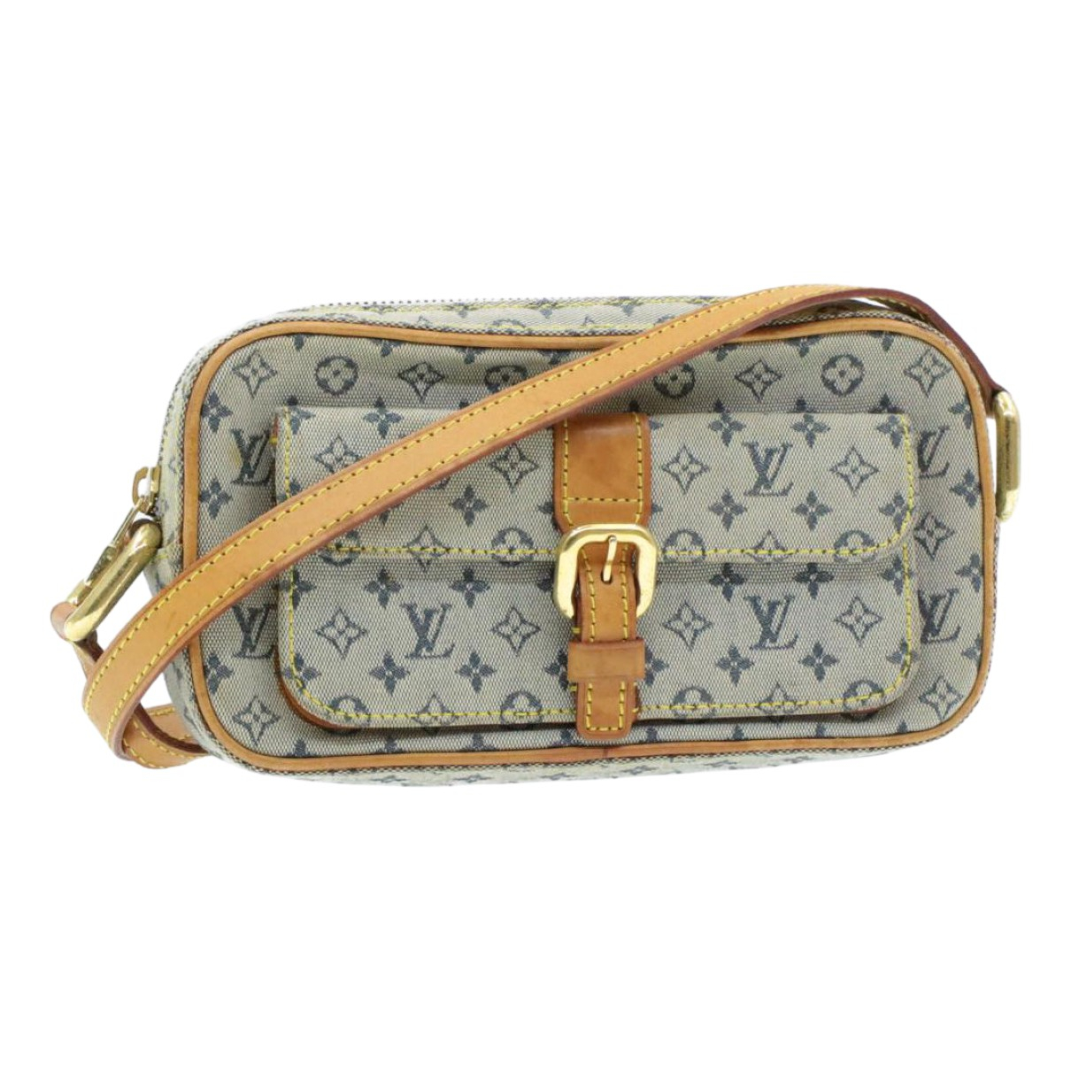 Louis Vuitton \N Blue Cloth handbag for Women \N