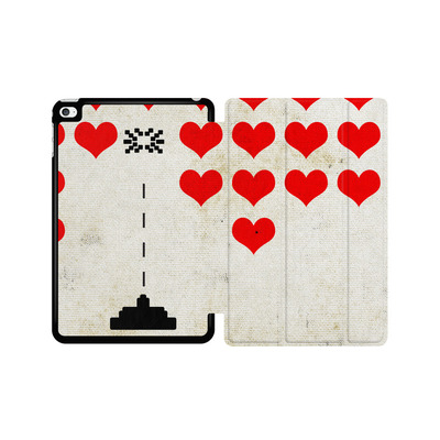 Apple iPad mini 4 Tablet Smart Case - Heart Attack von Claus-Peter Schops
