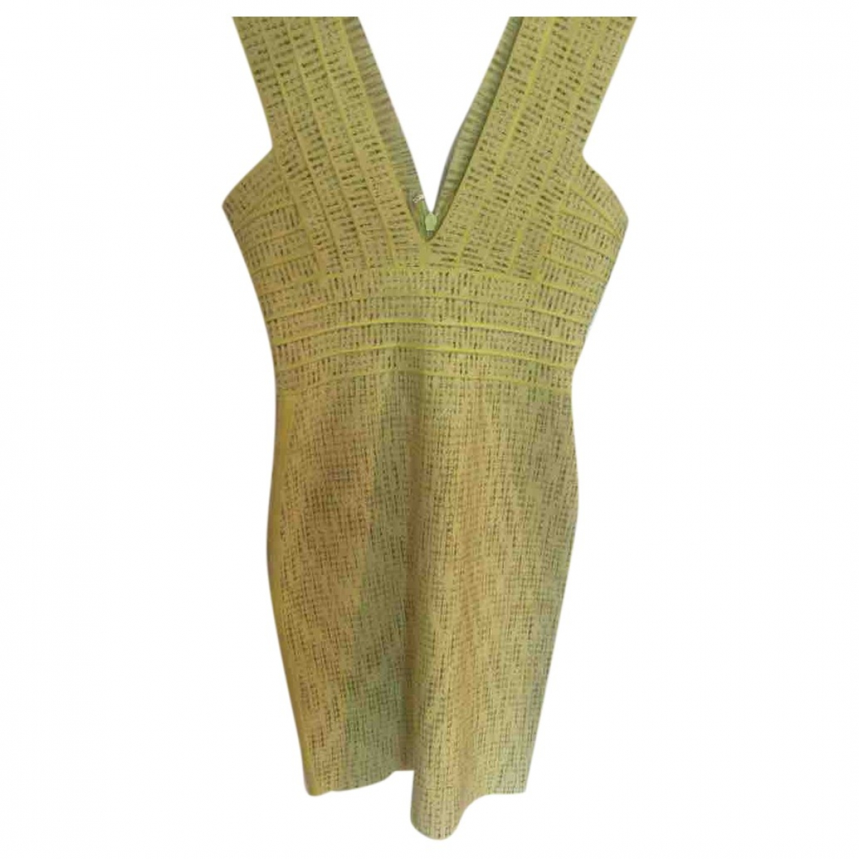 Herve Leger \N Green \N dress for Women M International