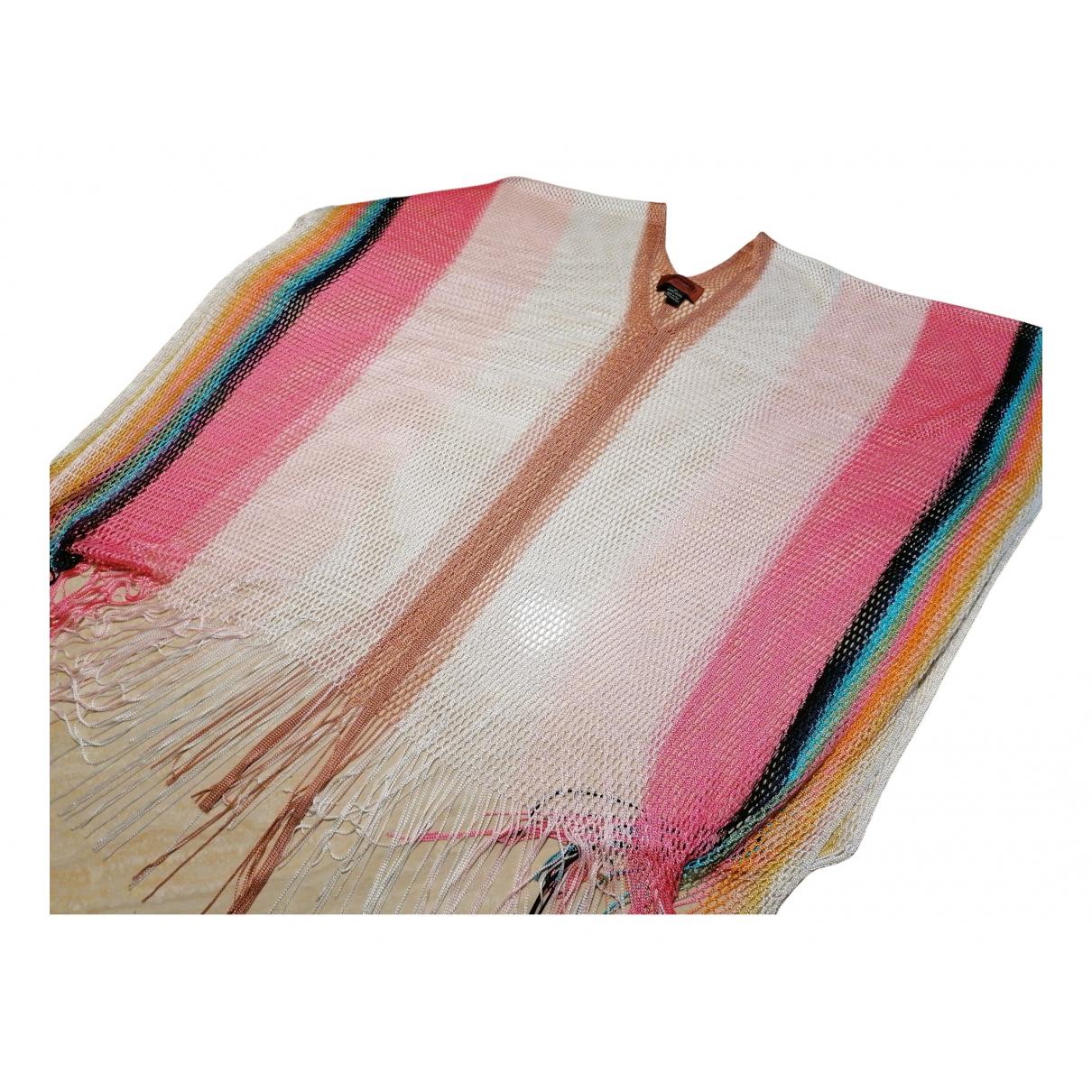 Missoni - Veste   pour femme en lin - multicolore