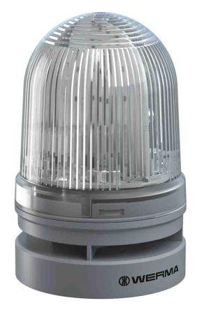 Werma EvoSIGNAL Mini Sounder Beacon Red LED, 115-230 V