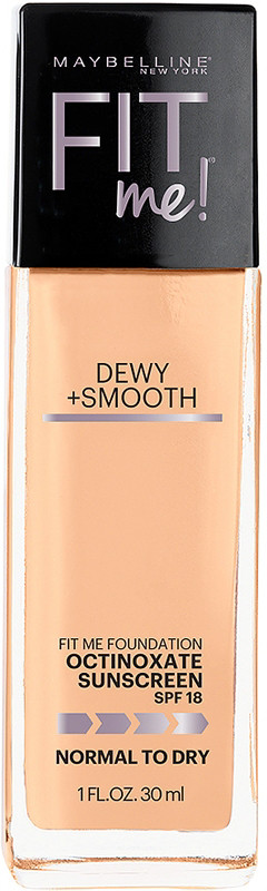 Fit Me Dewy + Smooth Foundation - Natural Beige