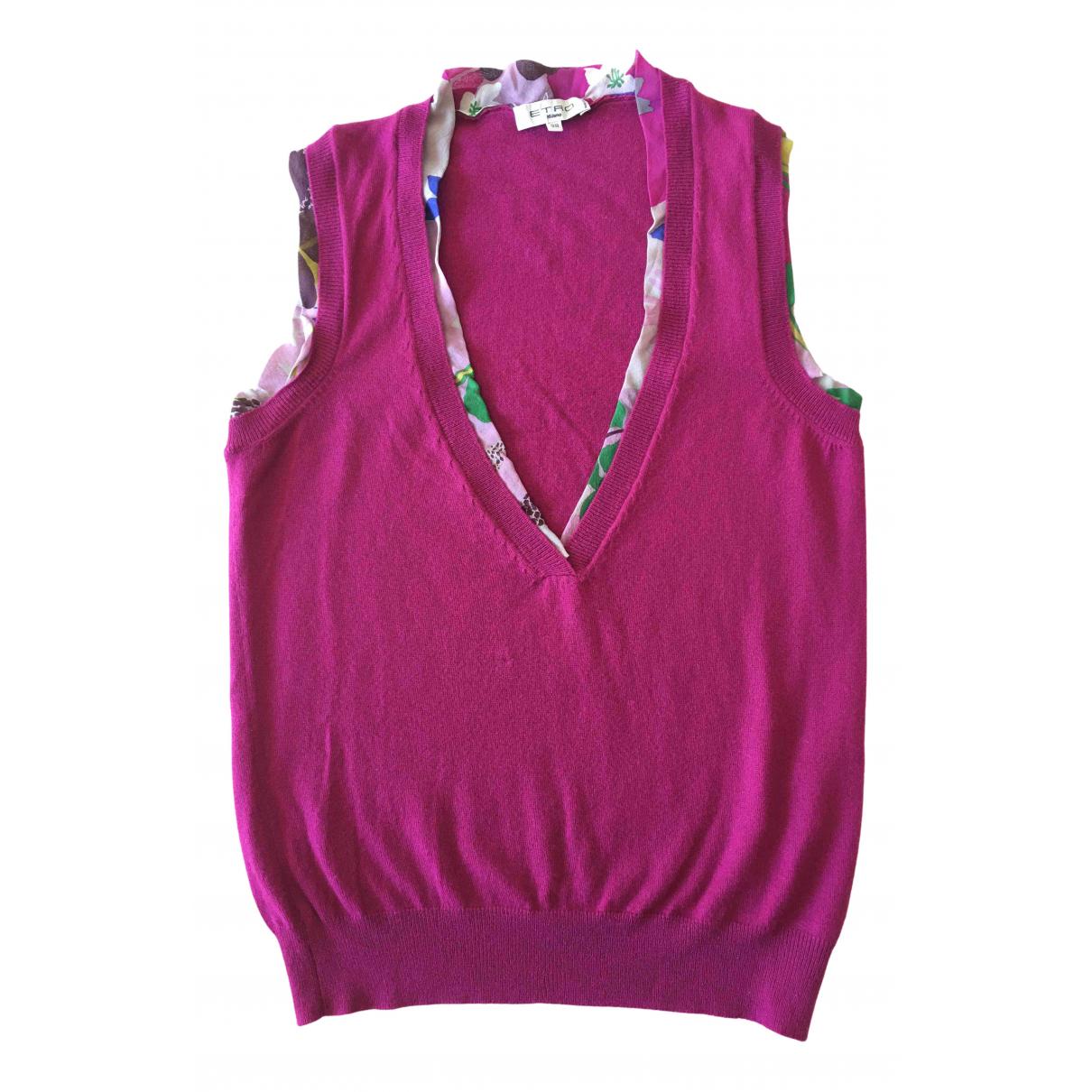 Etro - Pull   pour femme en cachemire - multicolore