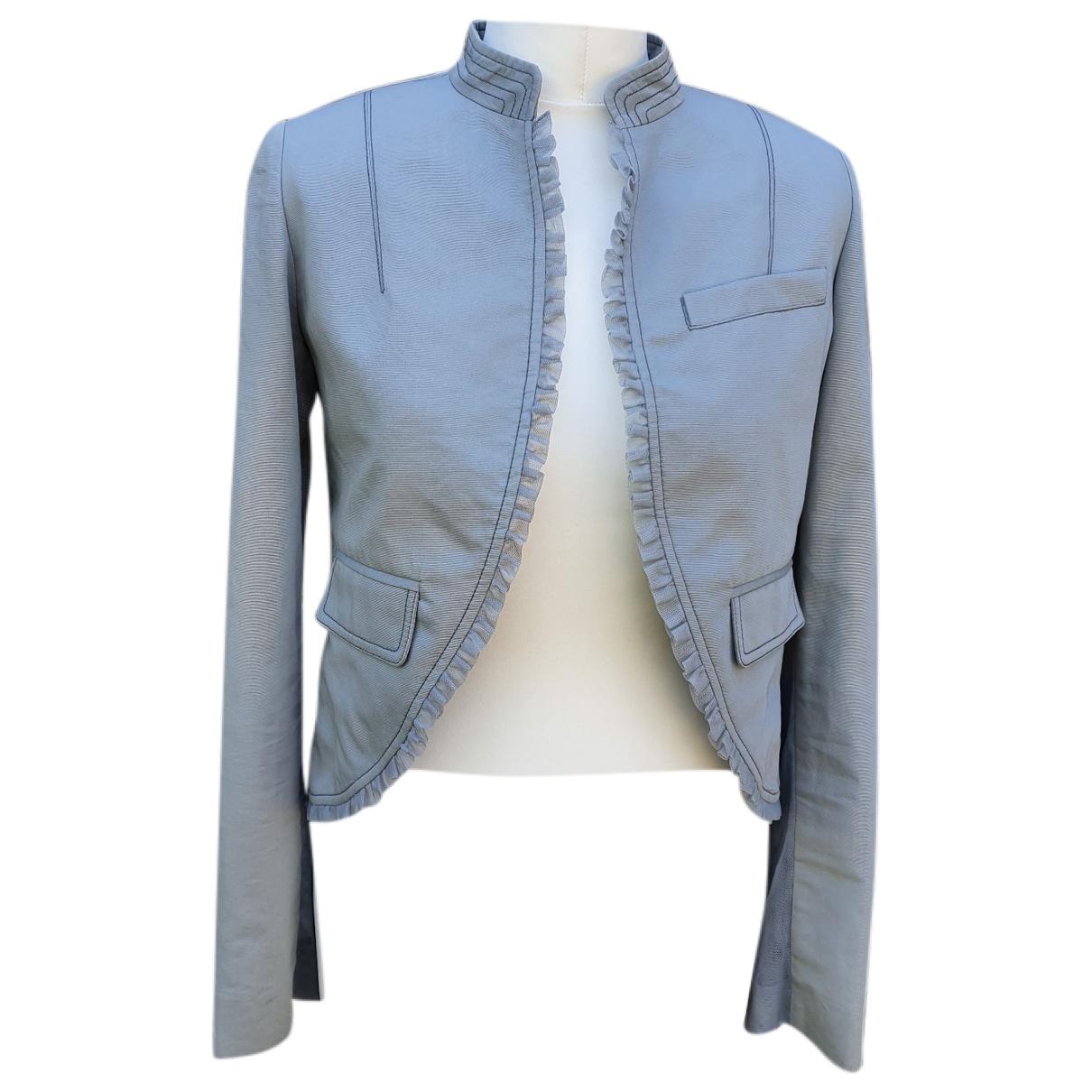 Luella \N Grey Cotton jacket for Women 8 UK
