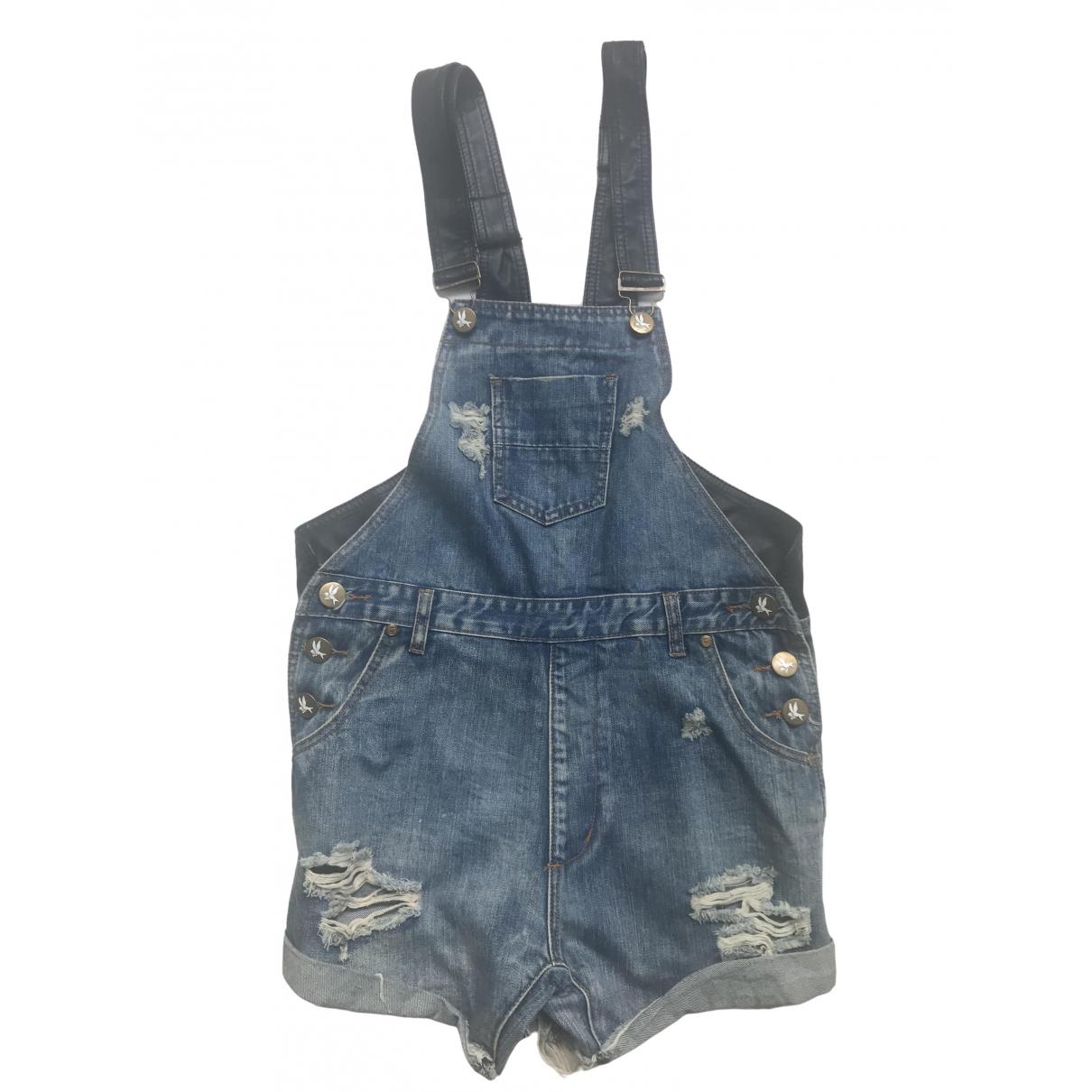 One Teaspoon \N Blue Denim - Jeans Jeans for Women 27 US