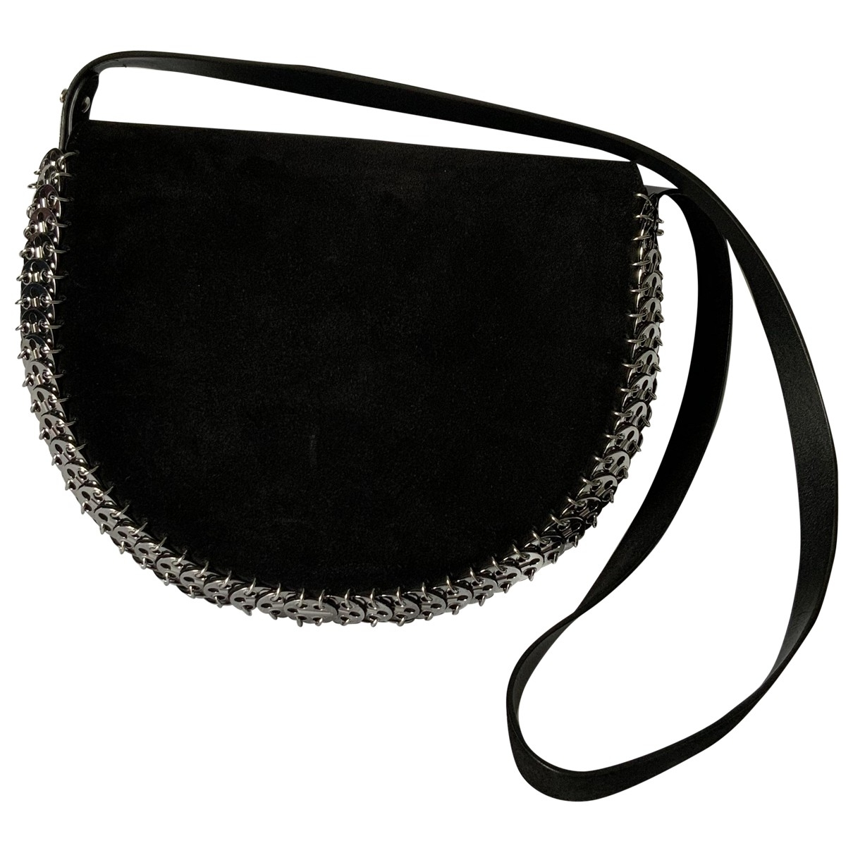 Paco Rabanne \N Black Suede handbag for Women \N