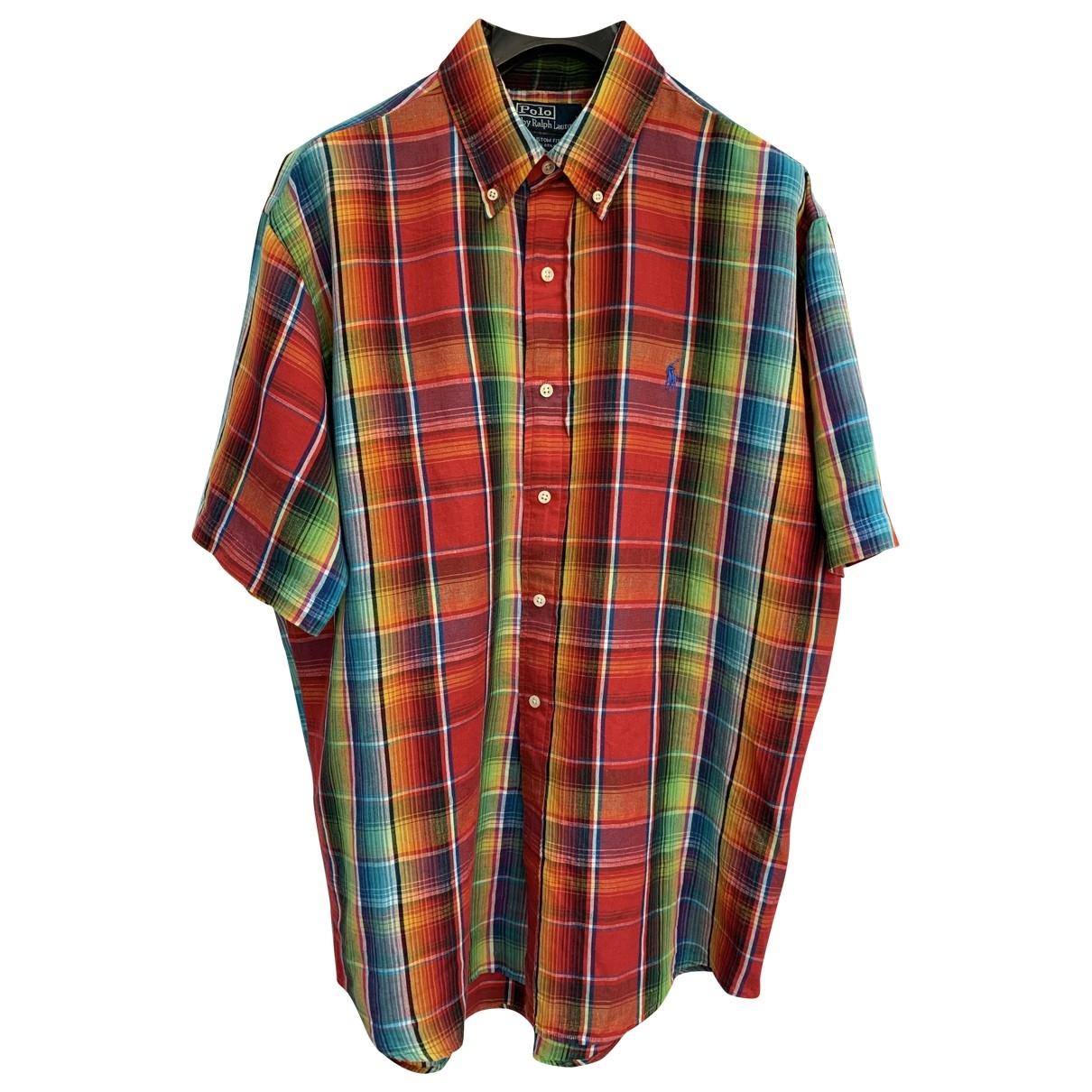 Polo Ralph Lauren - Chemises   pour homme en lin - multicolore