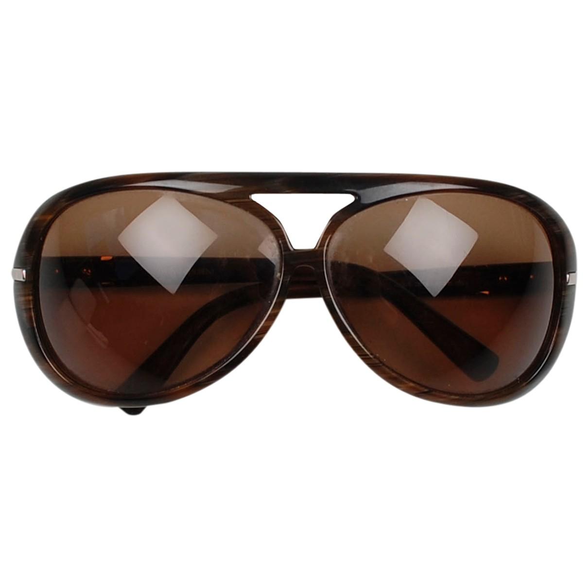 Yves Saint Laurent \N Brown Sunglasses for Men \N