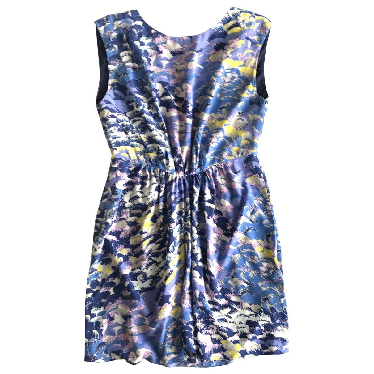 Tibi \N Multicolour Silk dress for Women 4 US