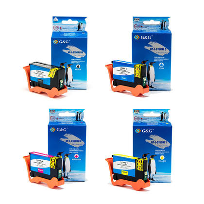 Lexmark 150XL Compatible Ink Cartridge Combo High Yield BK/C/Y/M