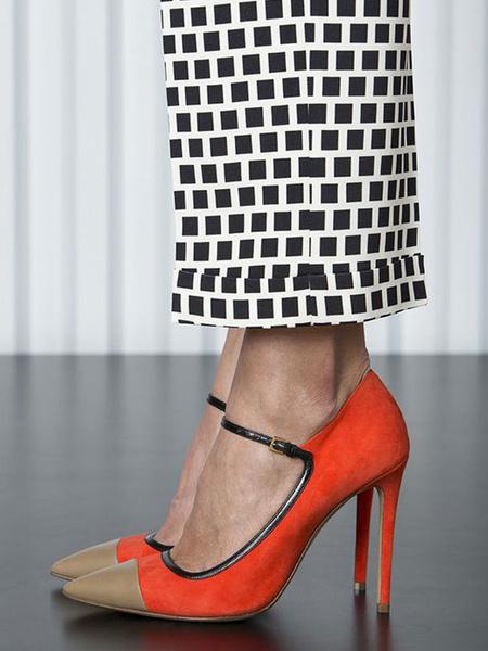 Milanoo Zapatos de Vestido de Ante de Tacon Alto de Mujer 2020 Zapatos Mary Jane de Punta Puntiaguda Tacon de Aguja