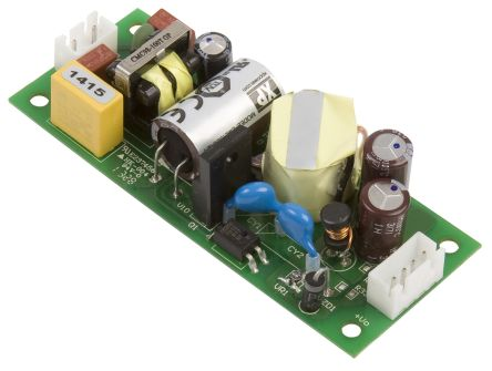 XP Power , 10W AC-DC Converter, 3.3V dc, Open Frame, Medical Approved