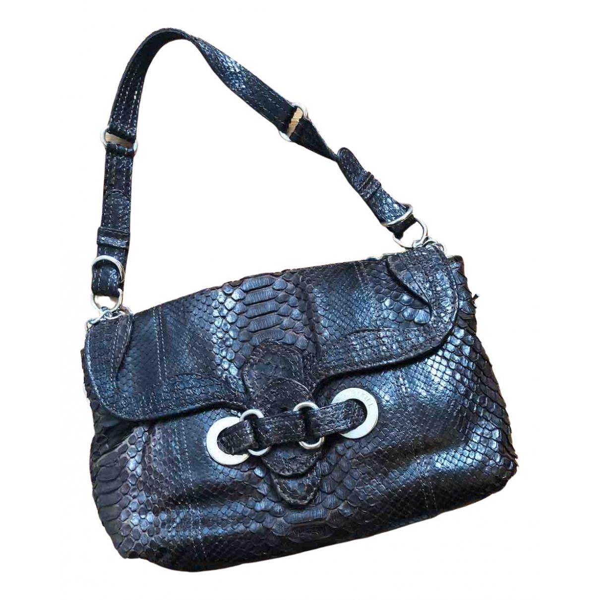 Sonia Rykiel \N Handtasche in  Braun Python