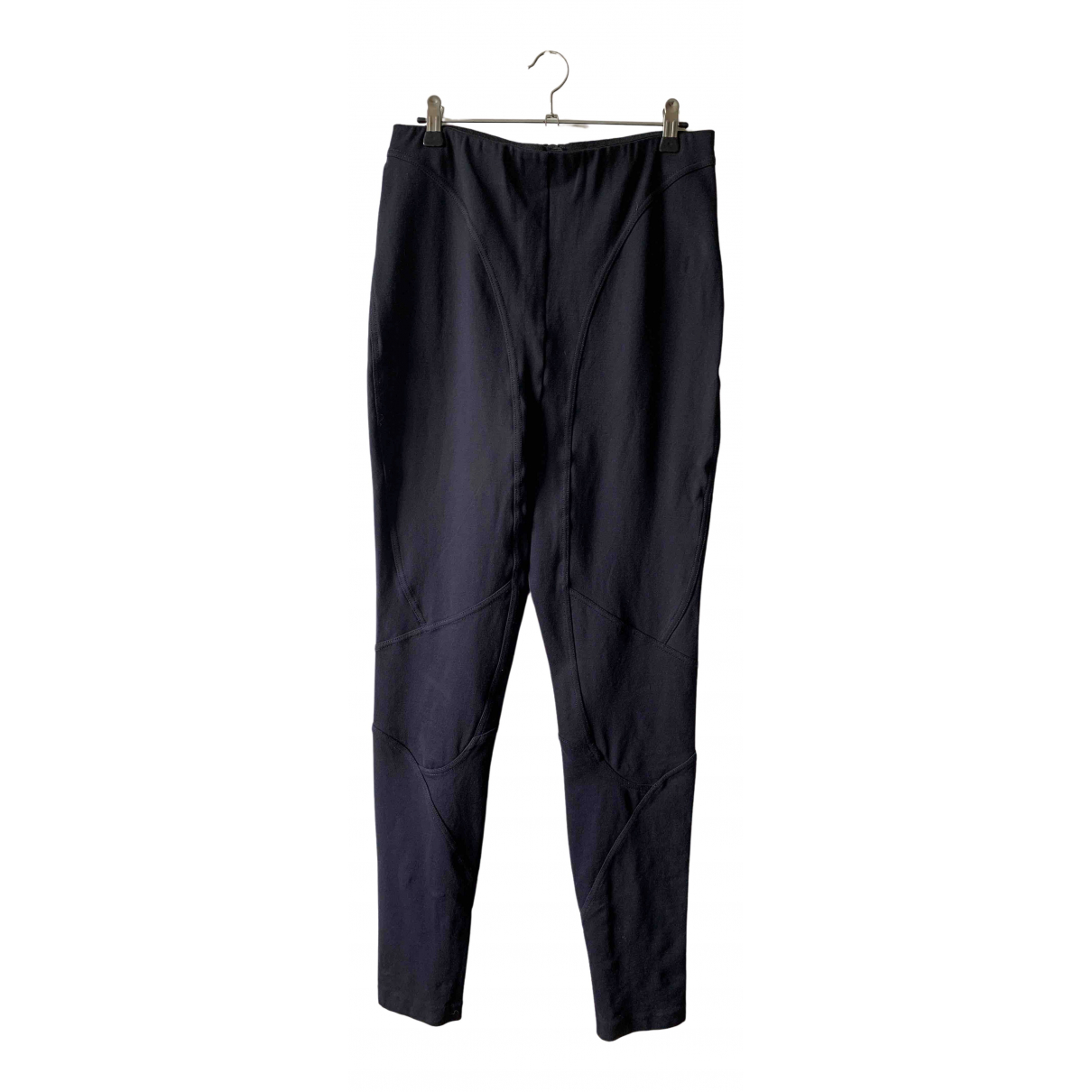 Acne Studios \N Black Trousers for Women 42 FR