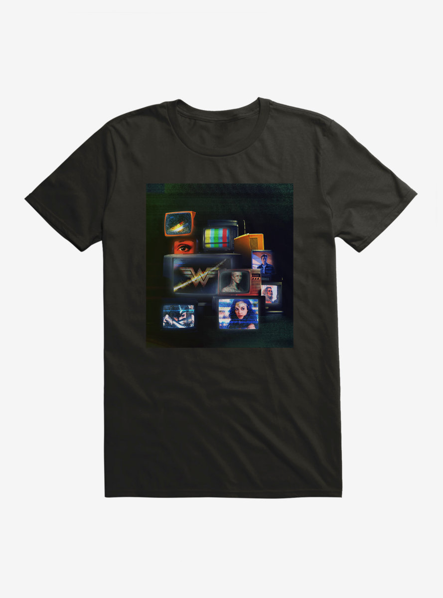 DC Comics Wonder Woman 1984 On The TV T-Shirt