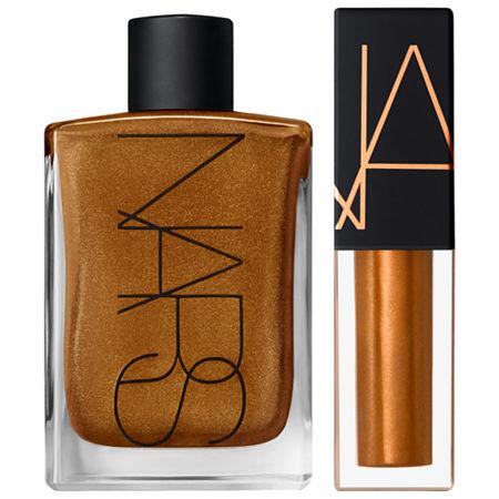 NARS Mini Lip Oil + Mini Body Glow Duo Set, One Size , Multiple Colors