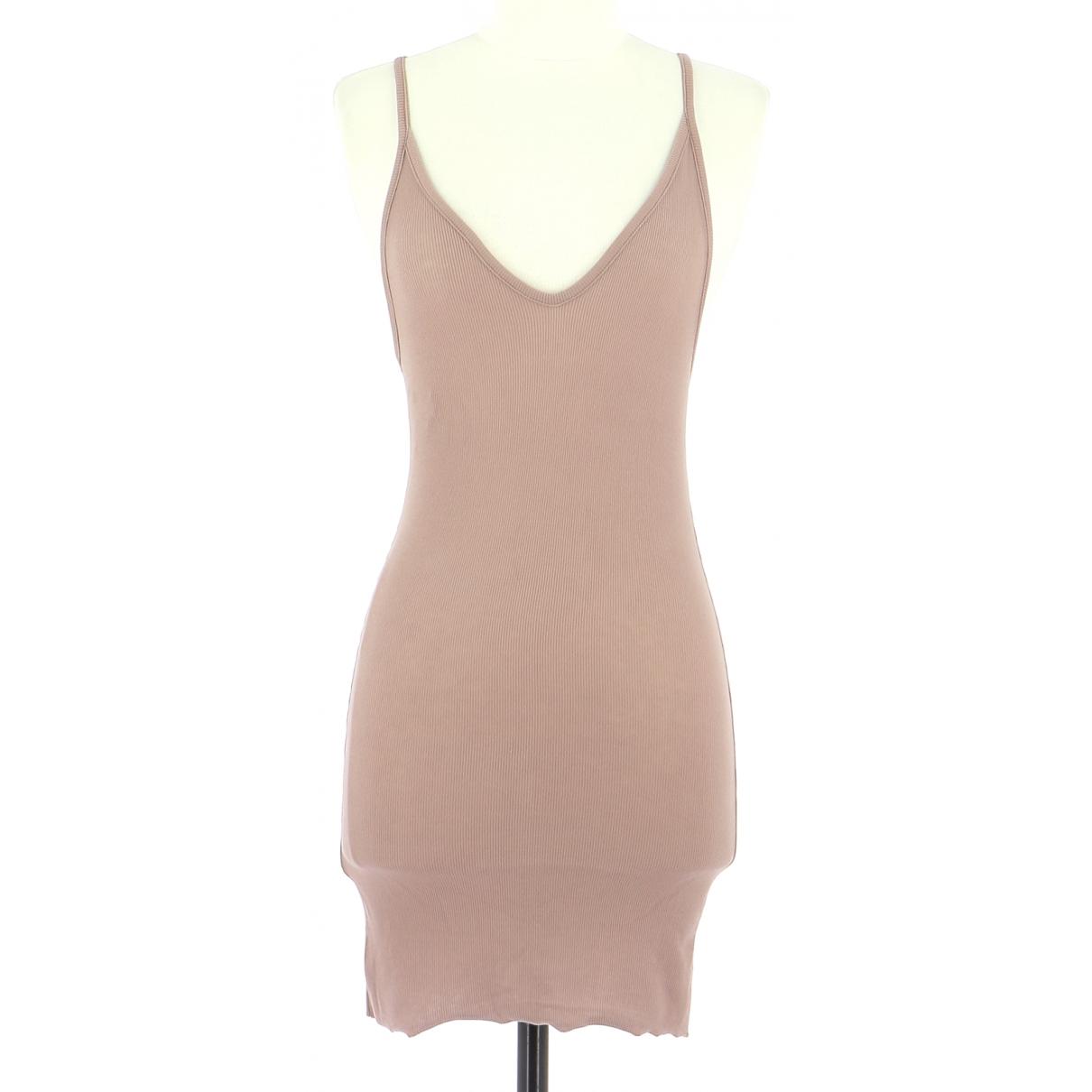 Bcbg Max Azria - Robe   pour femme en coton - rose