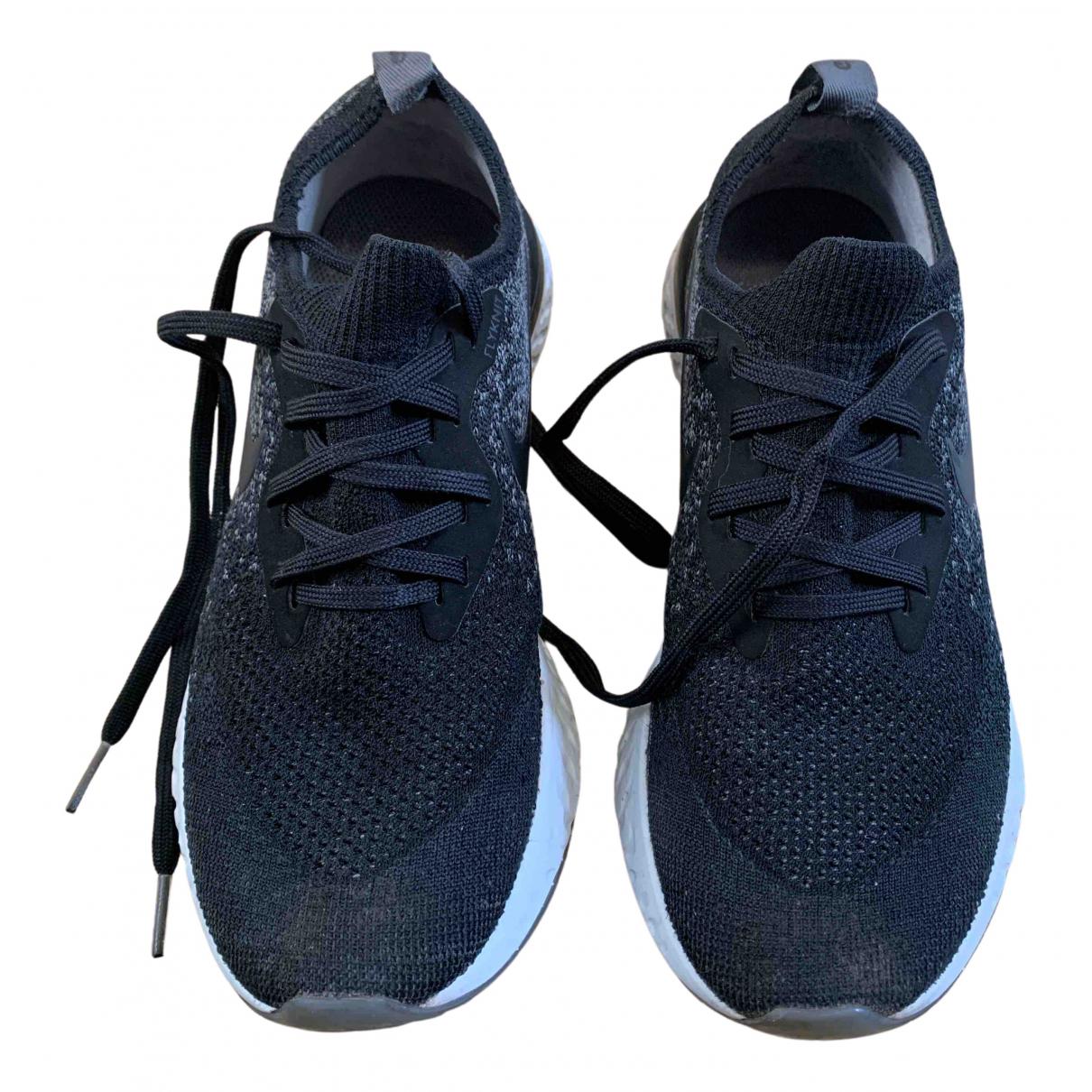 Nike - Baskets Flyknit Racer pour femme en toile - multicolore