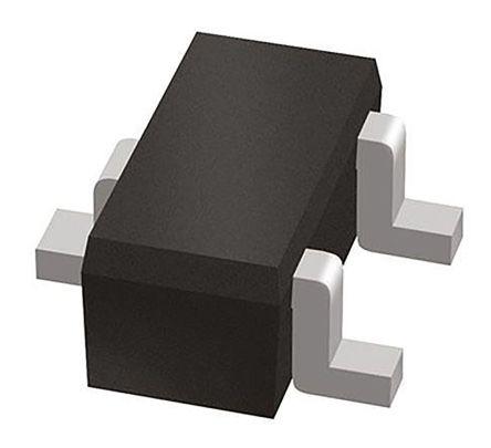 ON Semiconductor ON Semi BC847BTT1G NPN Transistor, 100 mA, 45 V, 3-Pin SOT-416 (250)