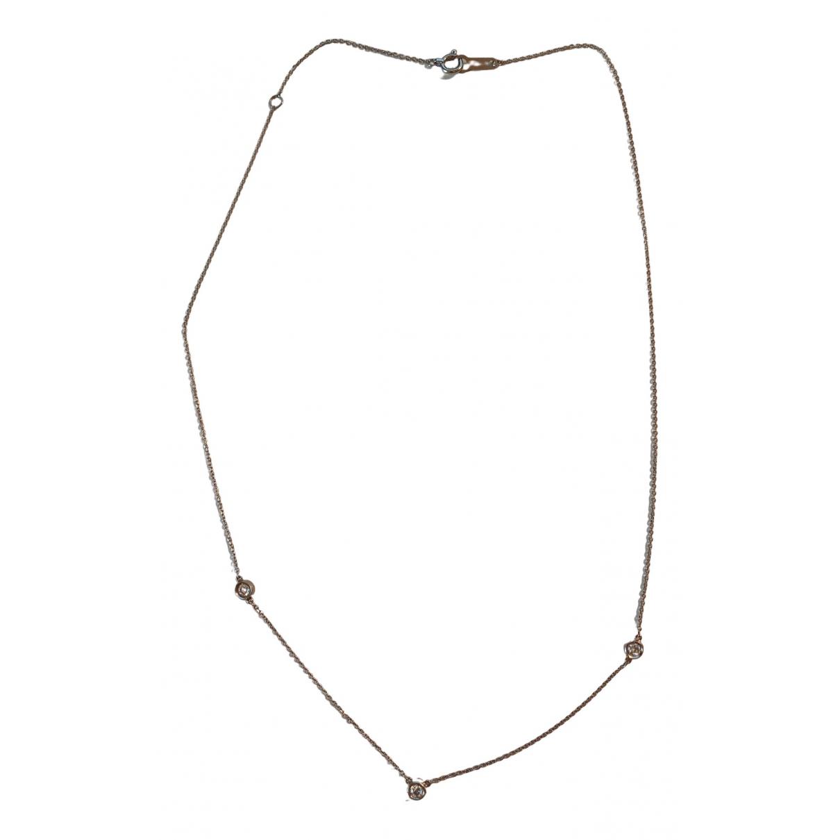 - Collier Chaines pour femme en platine - argente