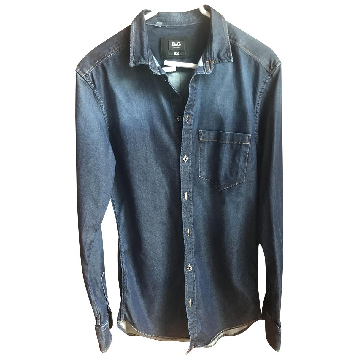 D&g N Denim - Jeans Shirts for Men 37 EU (tour de cou / collar)