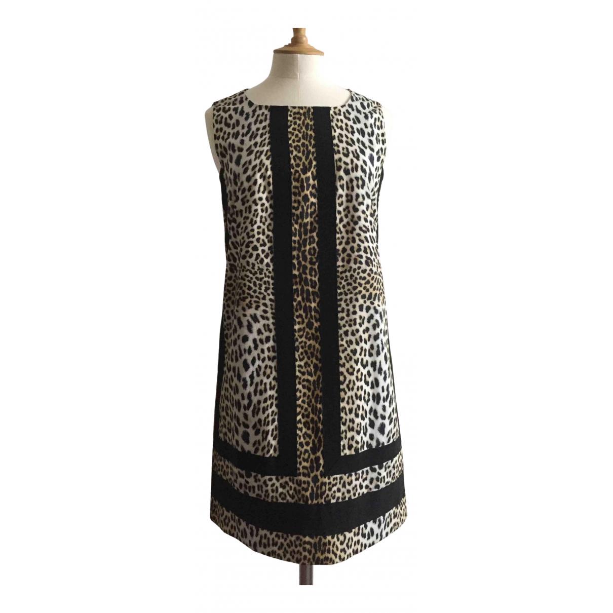 Giambattista Valli \N Kleid in  Bunt Baumwolle