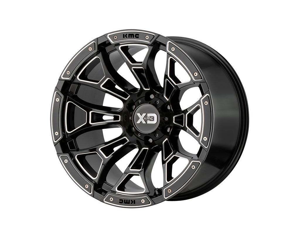 XD Series XD84121080318N XD841 Boneyard Wheel 20x10 8x8x165.1 -18mm Gloss Black Milled
