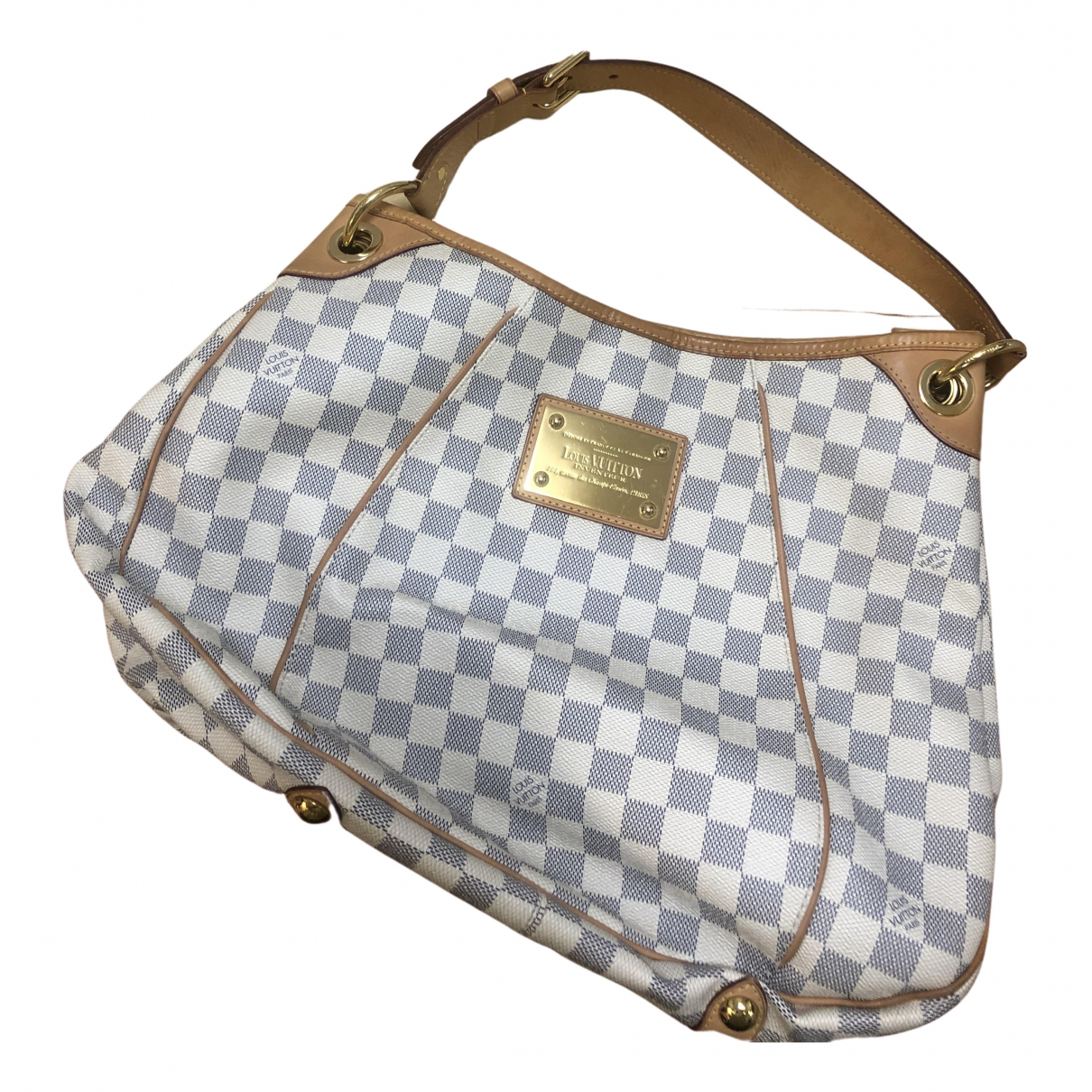 Louis Vuitton Galliera White Cloth handbag for Women N
