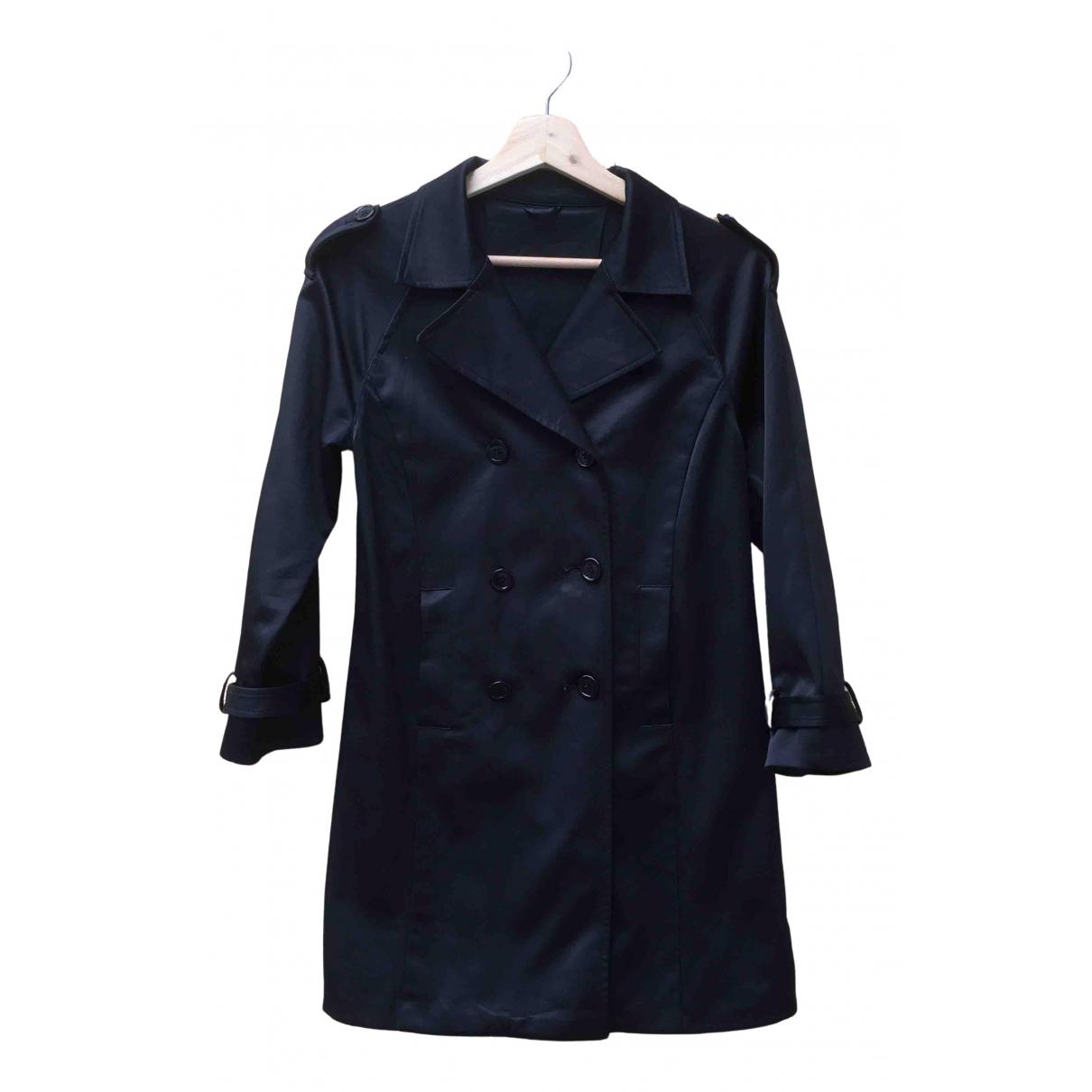 Prada - Manteau   pour femme en coton - noir