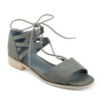 Journee Collection Womens Ingrid Slip-On Shoe, 8 1/2 Medium, Blue