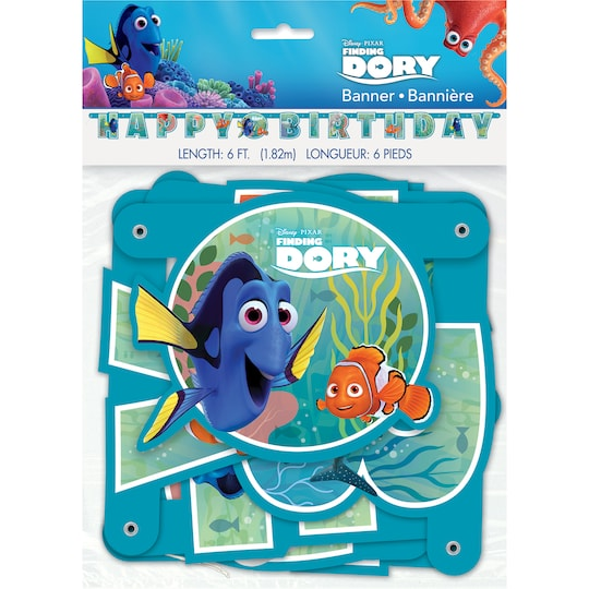 Finding Dory Birthday Banner By Disney | Michaels®
