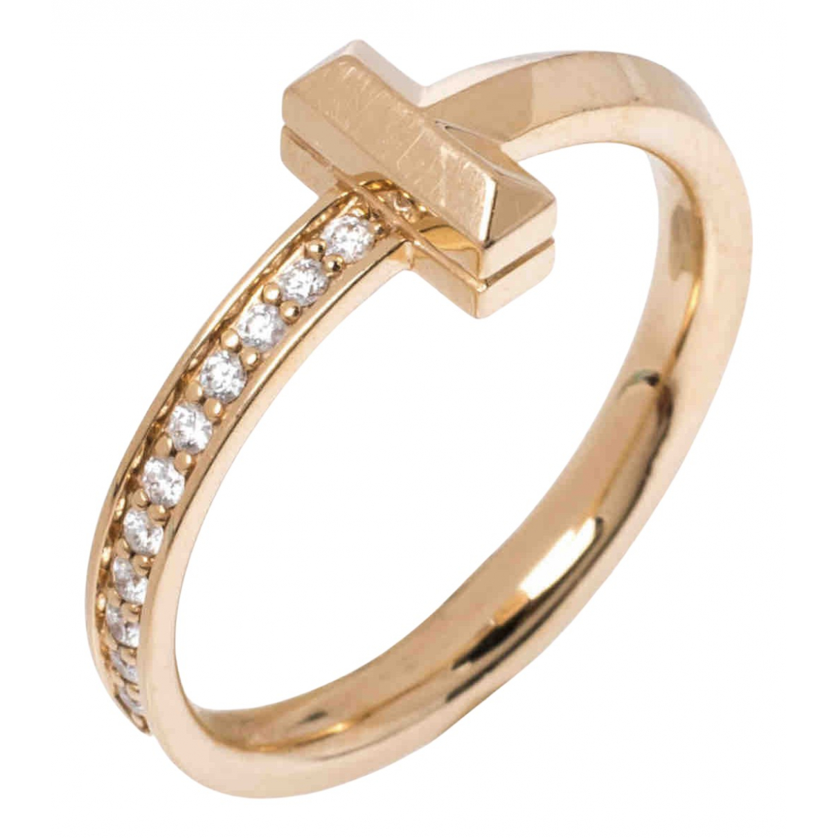 Tiffany & Co N Multicolour Pink gold ring for Women 54 EU