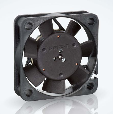 ebm-papst , 12 V dc, DC Axial Fan, 40 x 40 x 10mm, 9m³/h, 0.8W, IP20